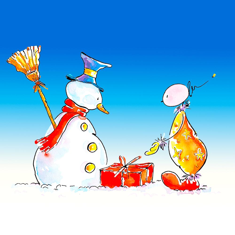 Raus in den Schnee mit Oups