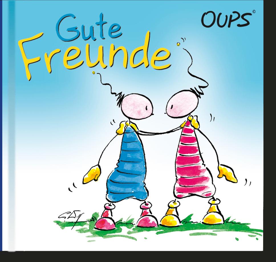 OUPS Minibuch - Gute Freunde