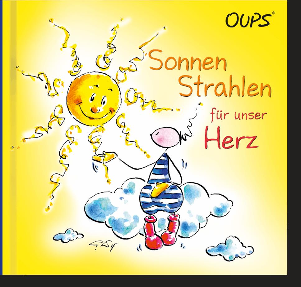 OUPS Buch - Sonnenstrahlen für unser Herz