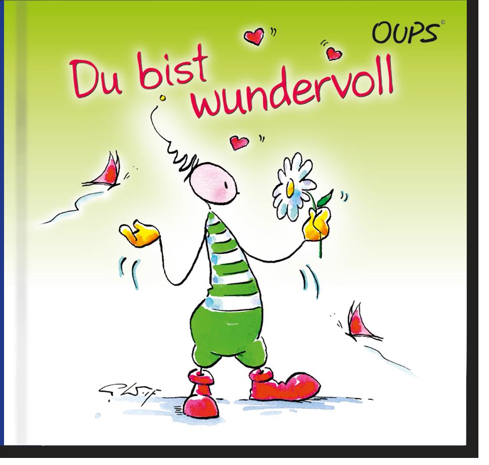 OUPS Buch - Du bist wundervoll