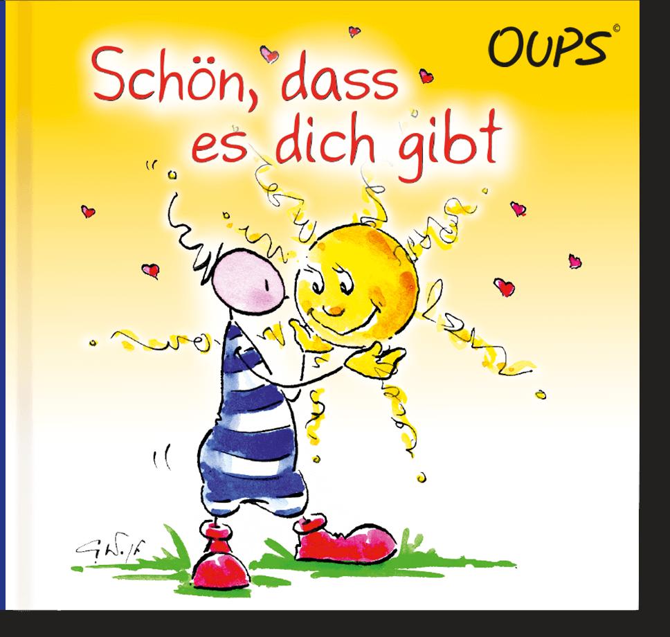 OUPS Minibuch - Schön, dass es dich gibt