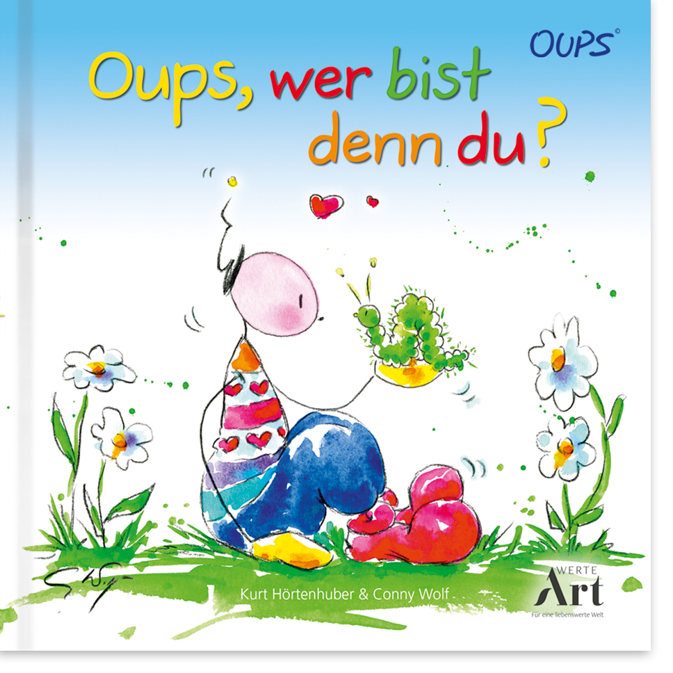 OUPS Kinderbuch - Oups wer bist denn du?