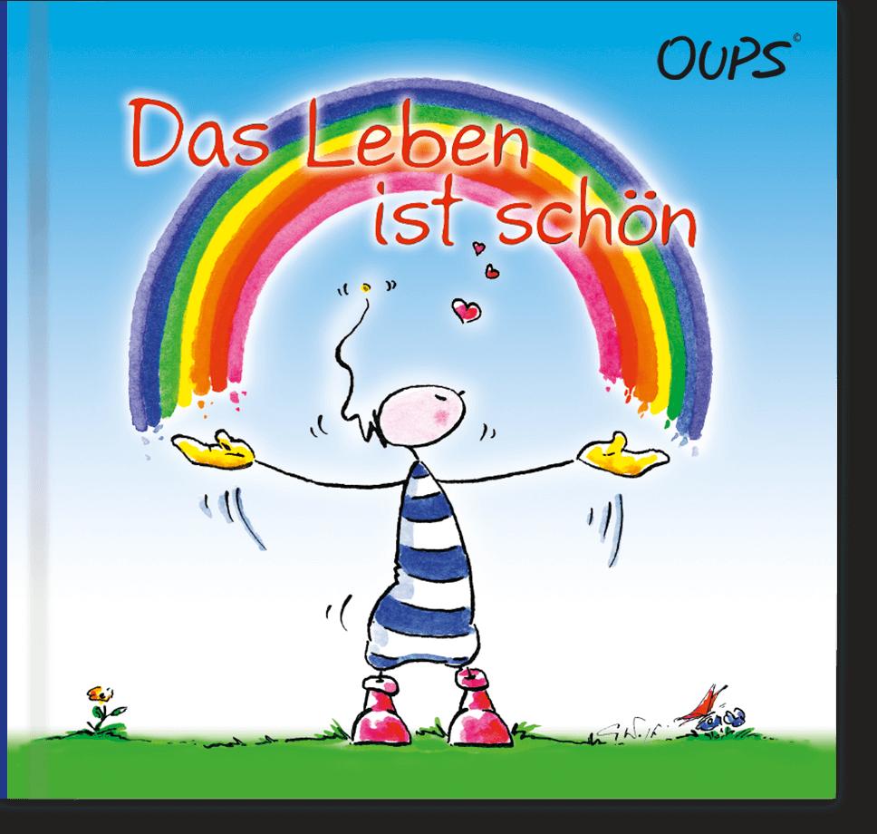 OUPS Buch - Das Leben ist schön