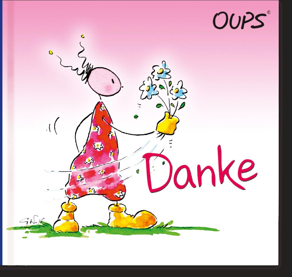 OUPS Minibuch - Danke