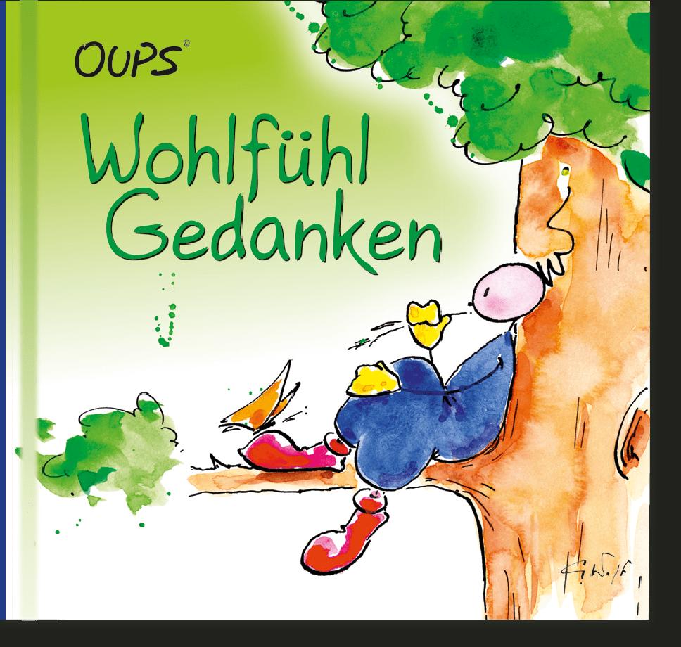 OUPS Minibuch - Wohlfühlgedanken