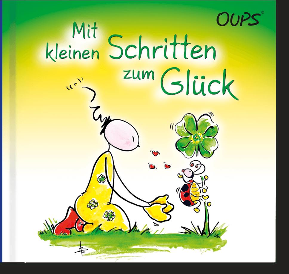 OUPS Buch - Mit kleinen Schritten zum Glück
