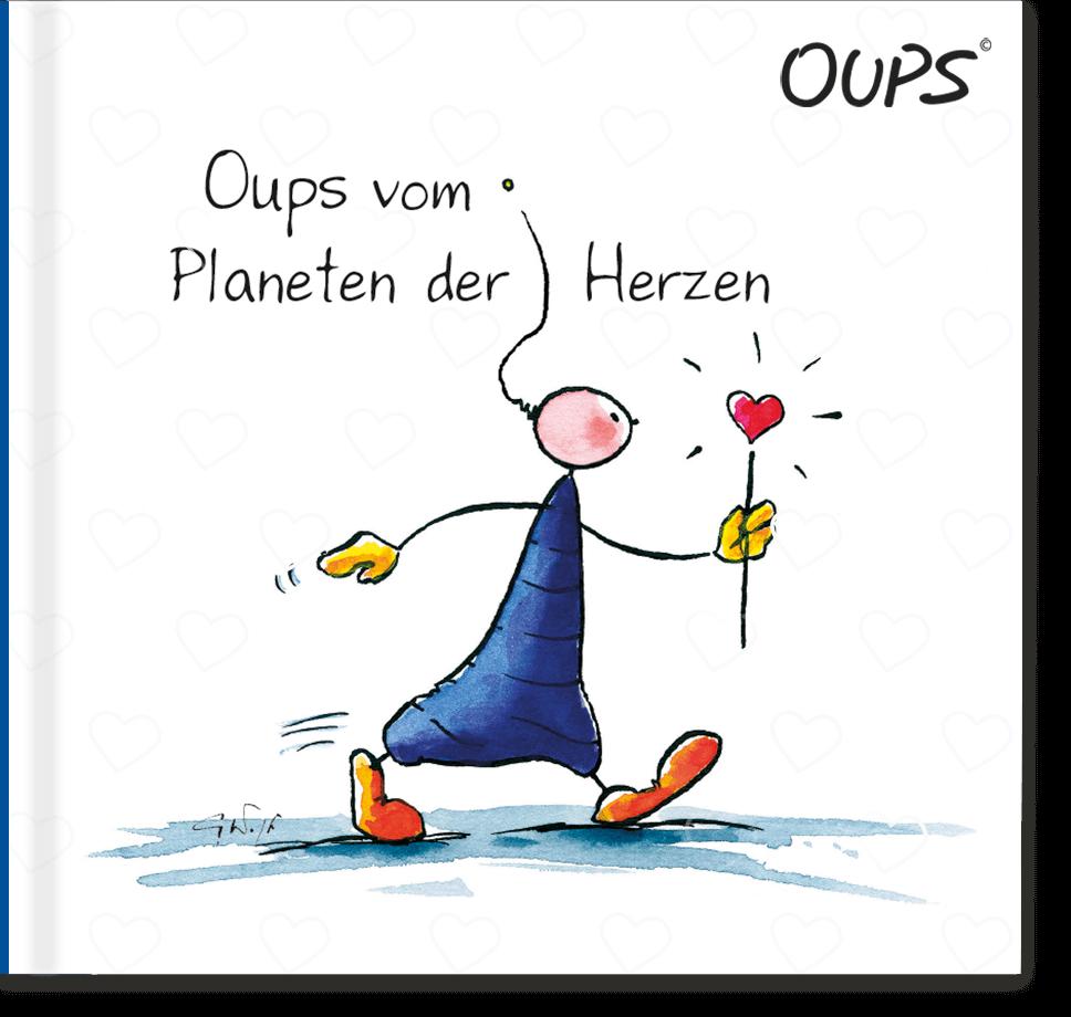 OUPS Buch - Planeten der Herzen