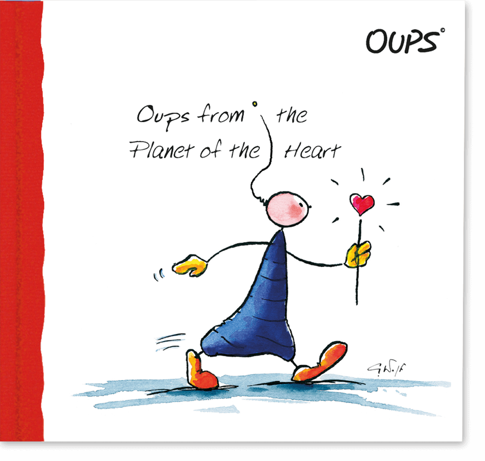 OUPS Buch - from Heart`s Planet