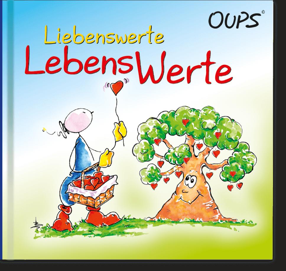 OUPS Minibuch - Liebenswerte Lebenswerte