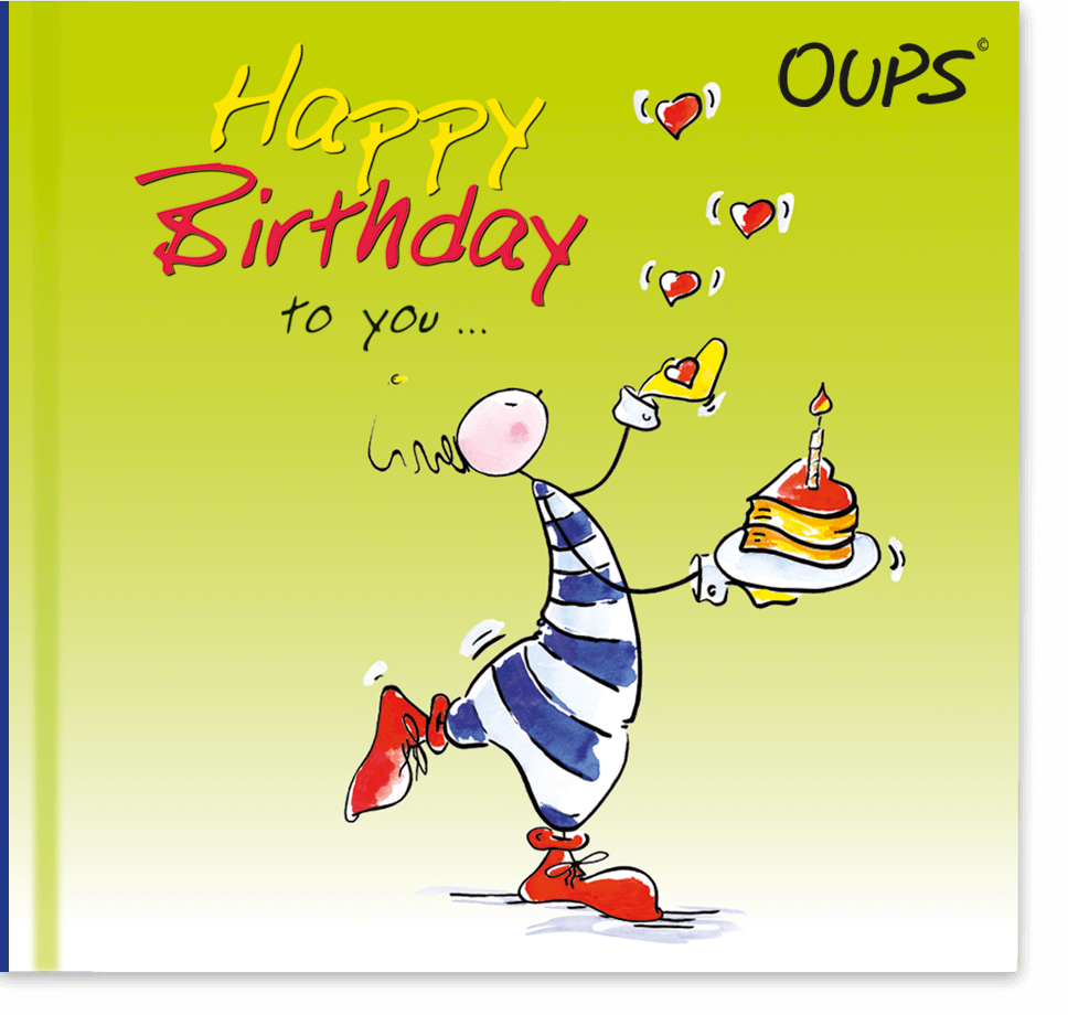 OUPS Buch - Happy Birthday to you