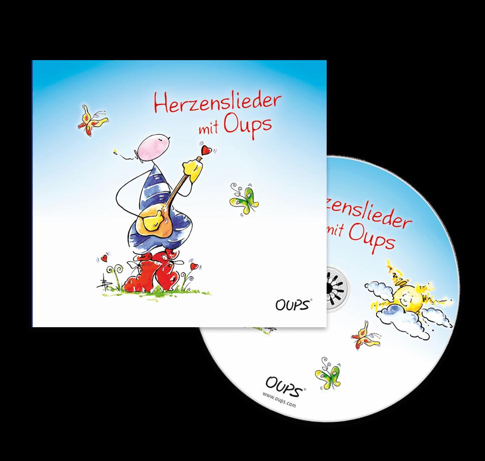OUPS-CD Herzenslieder