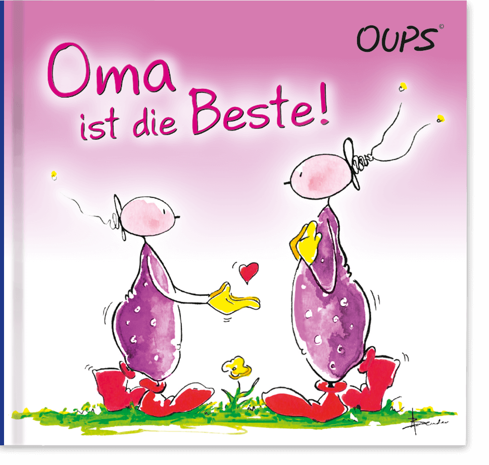 Oups Minibuch - Oma ist die Beste!