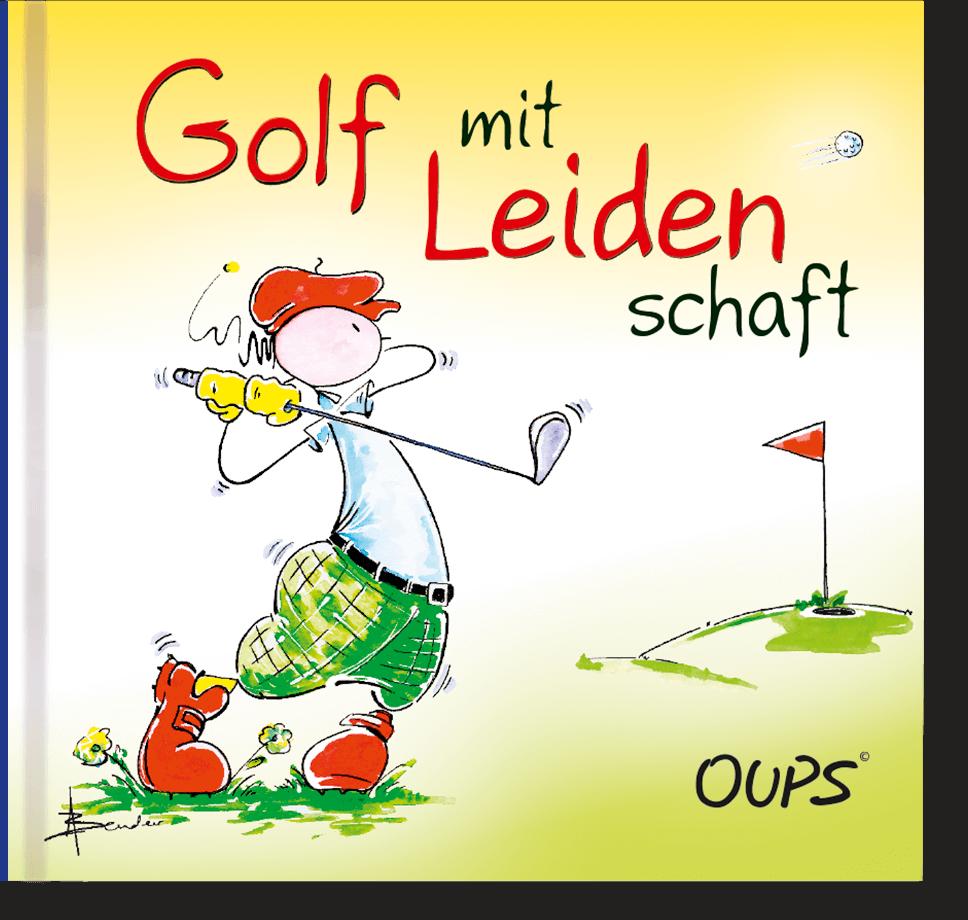 OUPS Minibuch - Golf mit Leidenschaft