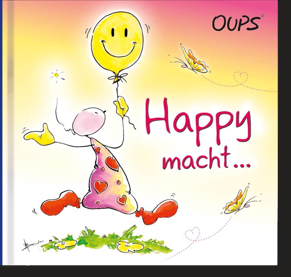 OUPS Minibuch - Happy macht...