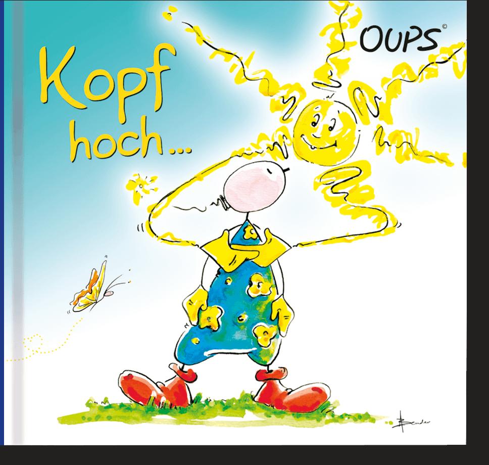 OUPS Minibuch - Kopf hoch...
