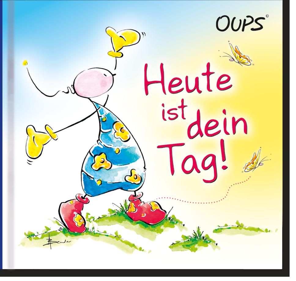 Oups Minibuch - Heute ist dein Tag!