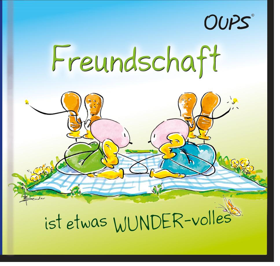 Oups Minibuch - Freundschaft ist etwas WUNDER-volles