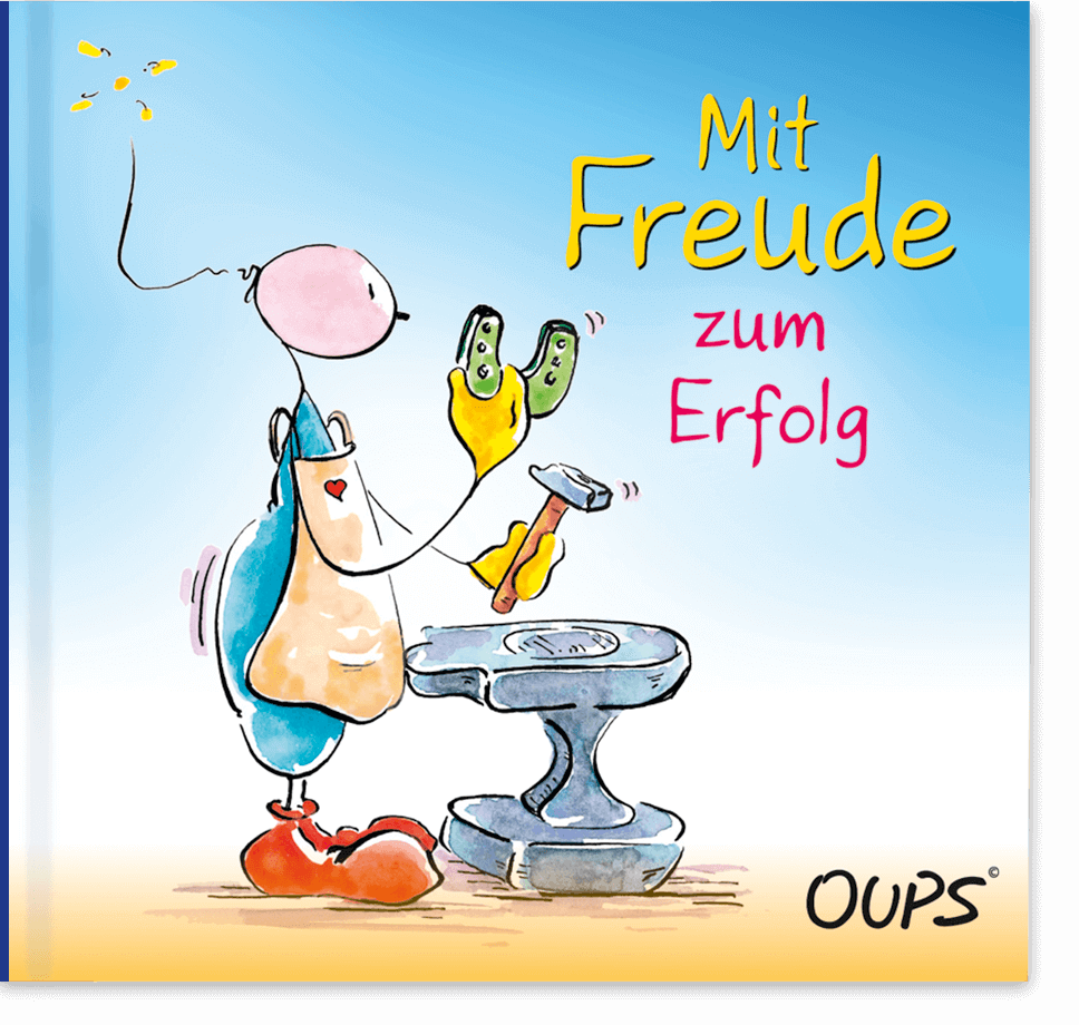 Oups Minibuch - Mit Freude zum Erfolg