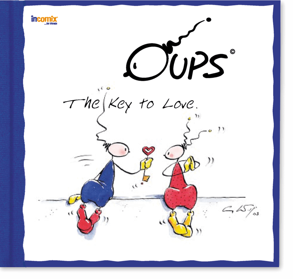 OUPS Buch - The Key to Love