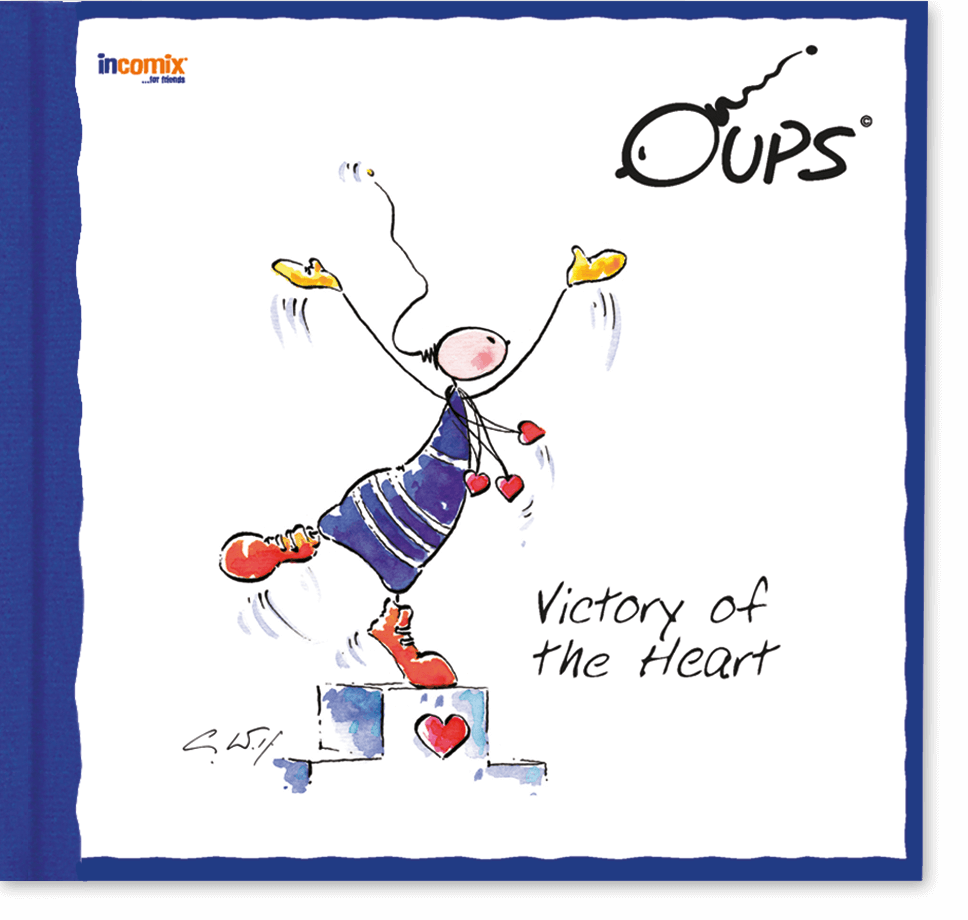OUPS Buch - Victory of the Heart