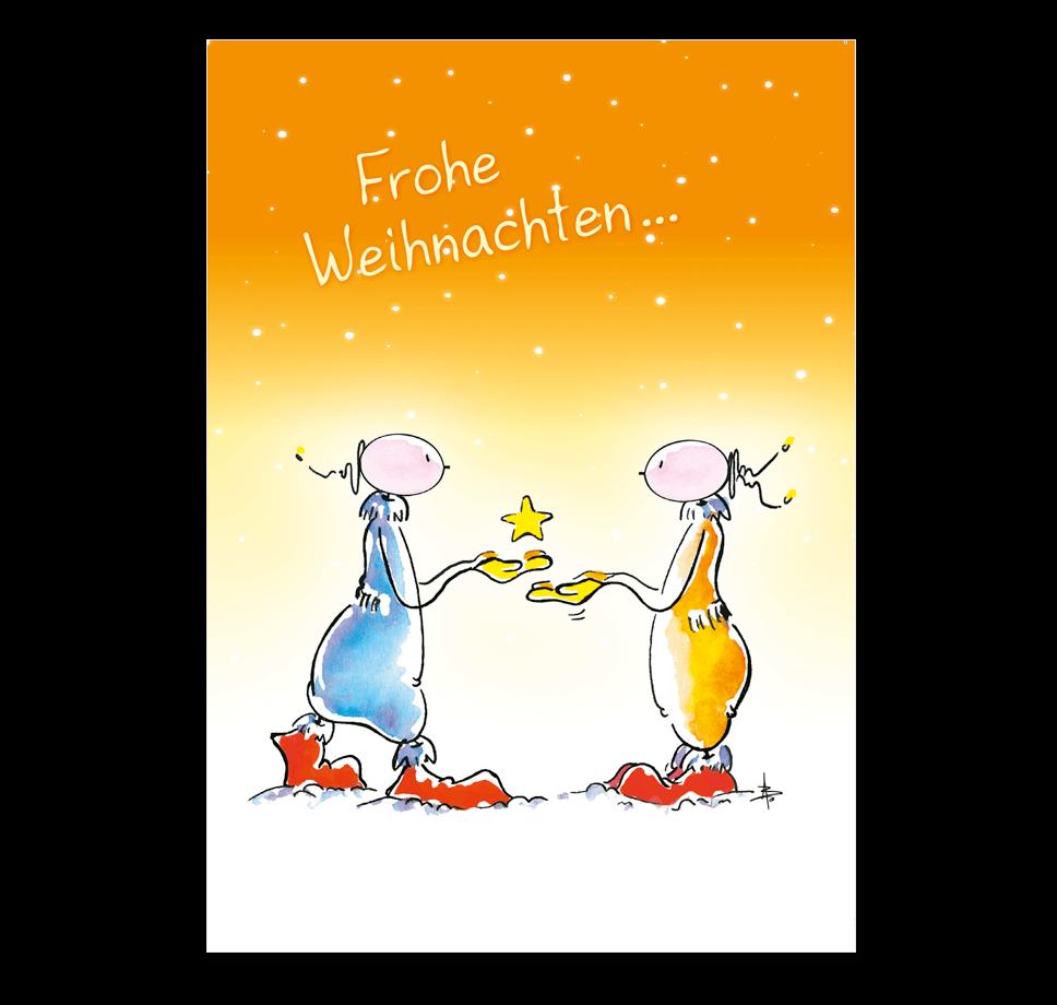 Oups Klappkarte - Frohe Weihnachten