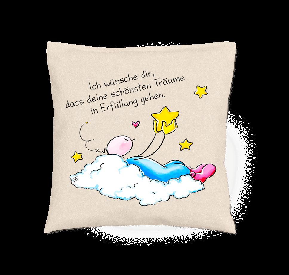 Oups Duftkissen - Ich wünsche dir, dass deine schönsten Träume in Erfüllung gehen.