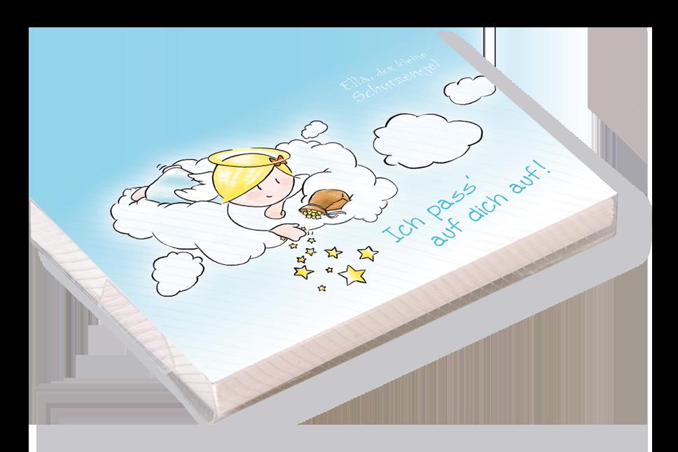 Engel Kärtchenbox - Ich pass´ auf dich auf!
