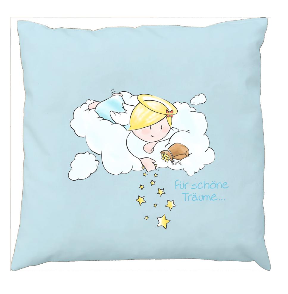 Engel Schafwollkissen - Für schöne Träume
