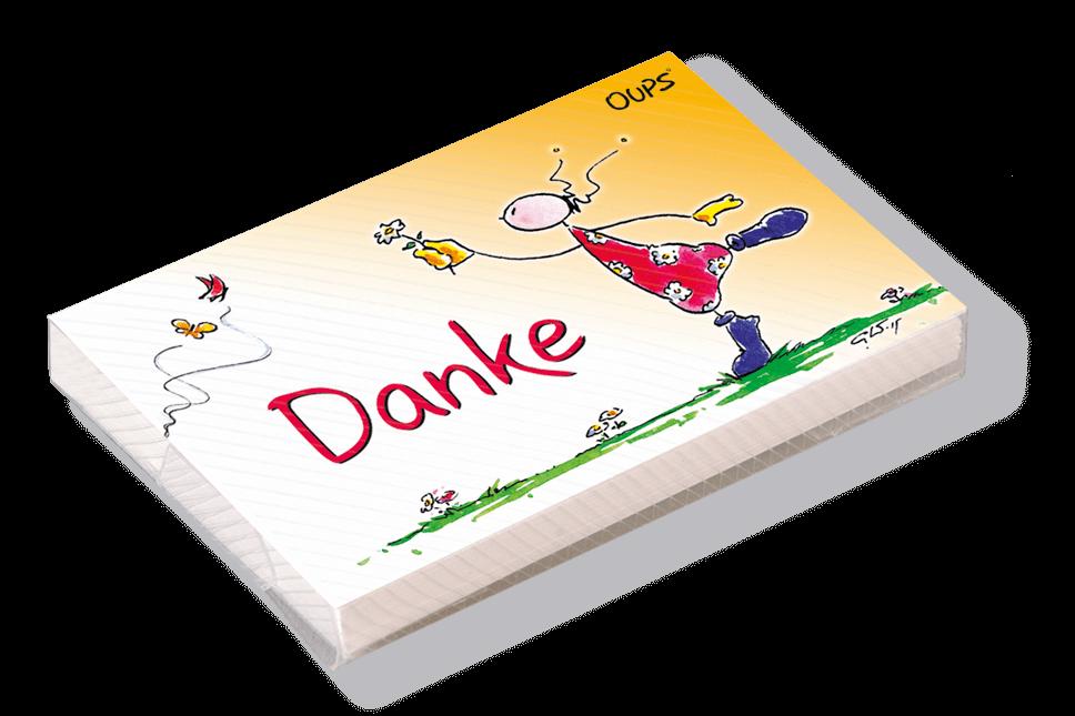 OUPS Kärtchenbox - Danke