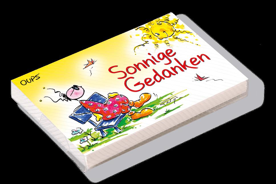 OUPS Kärtchenbox - Sonnige Gedanken