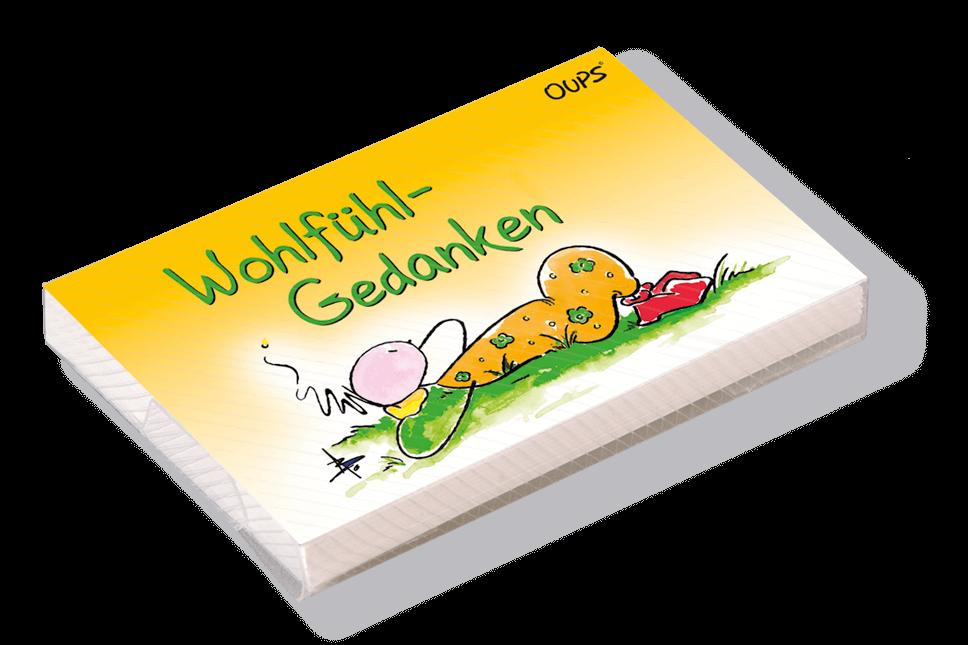OUPS Kärtchenbox - Wohlfühlgedanken