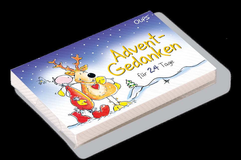 OUPS Kärtchenbox - AdventGedanken