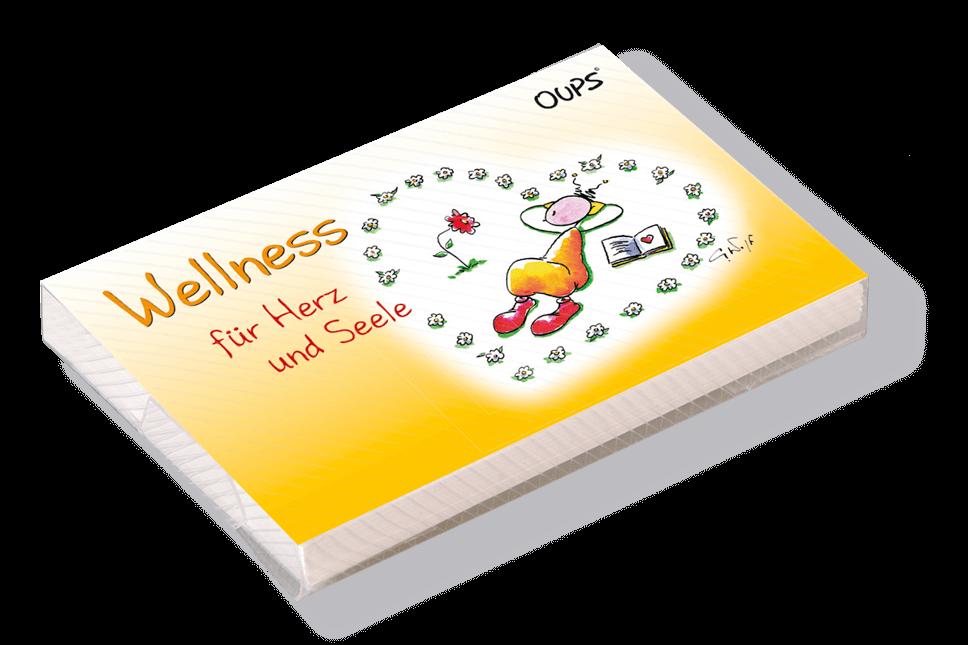 OUPS Kärtchenbox - Wellness für Herz und Seele