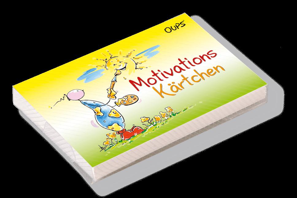 OUPS Kärtchenbox - Motivations Kärtchen