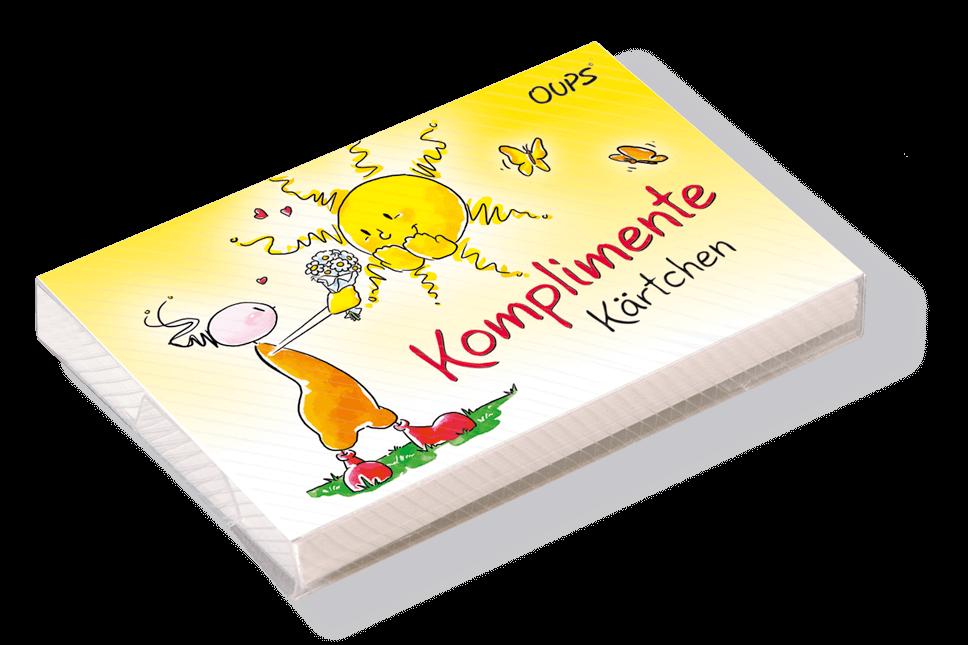 Oups Kärtchenbox - Komplimente Kärtchen