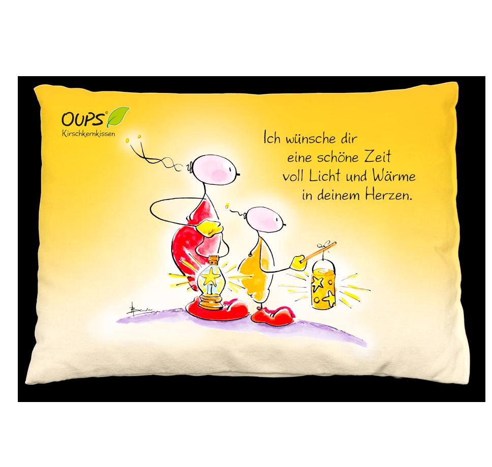 Oups - Themenwelt - Oups Kirschkernkissen - Ich wünsche