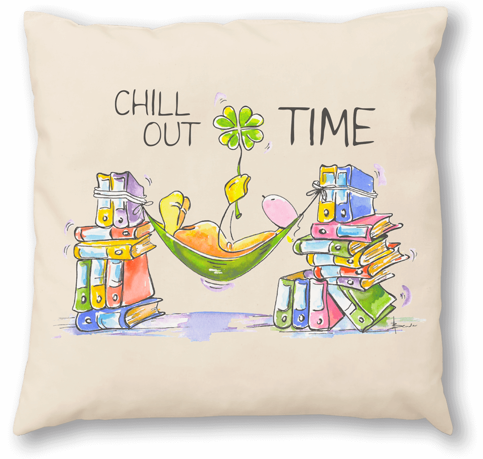 OUPS Zirbenkissen 30x30 - CHILL OUT TIME