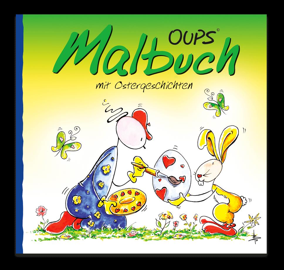 OUPS Malbuch - Ostergeschichten