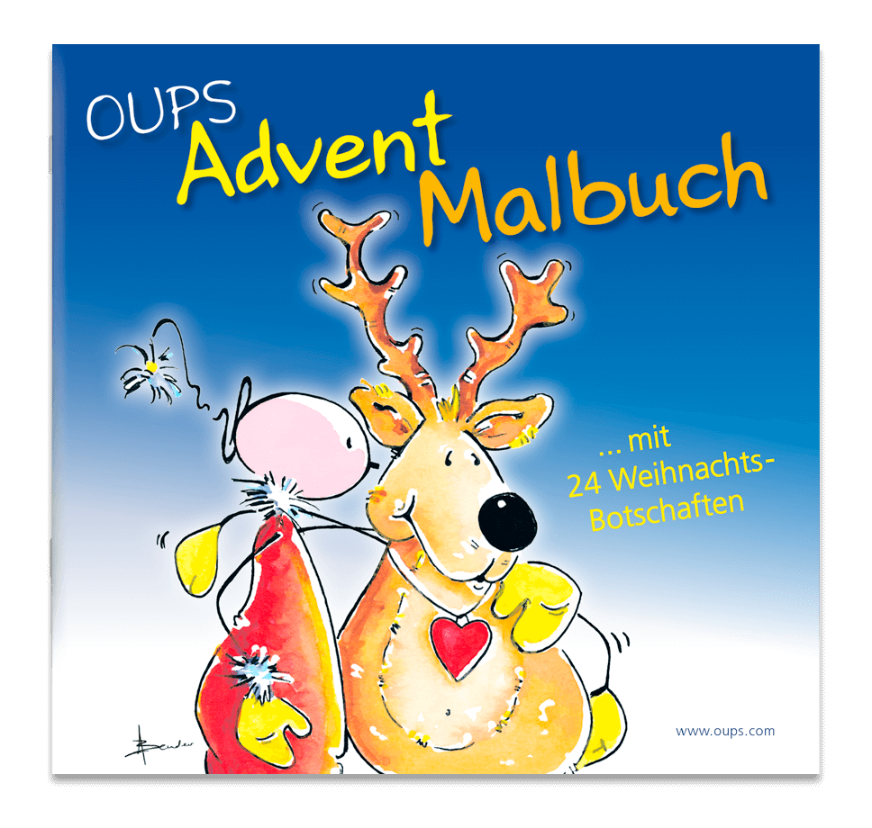 OUPS - Advent-Malbuch