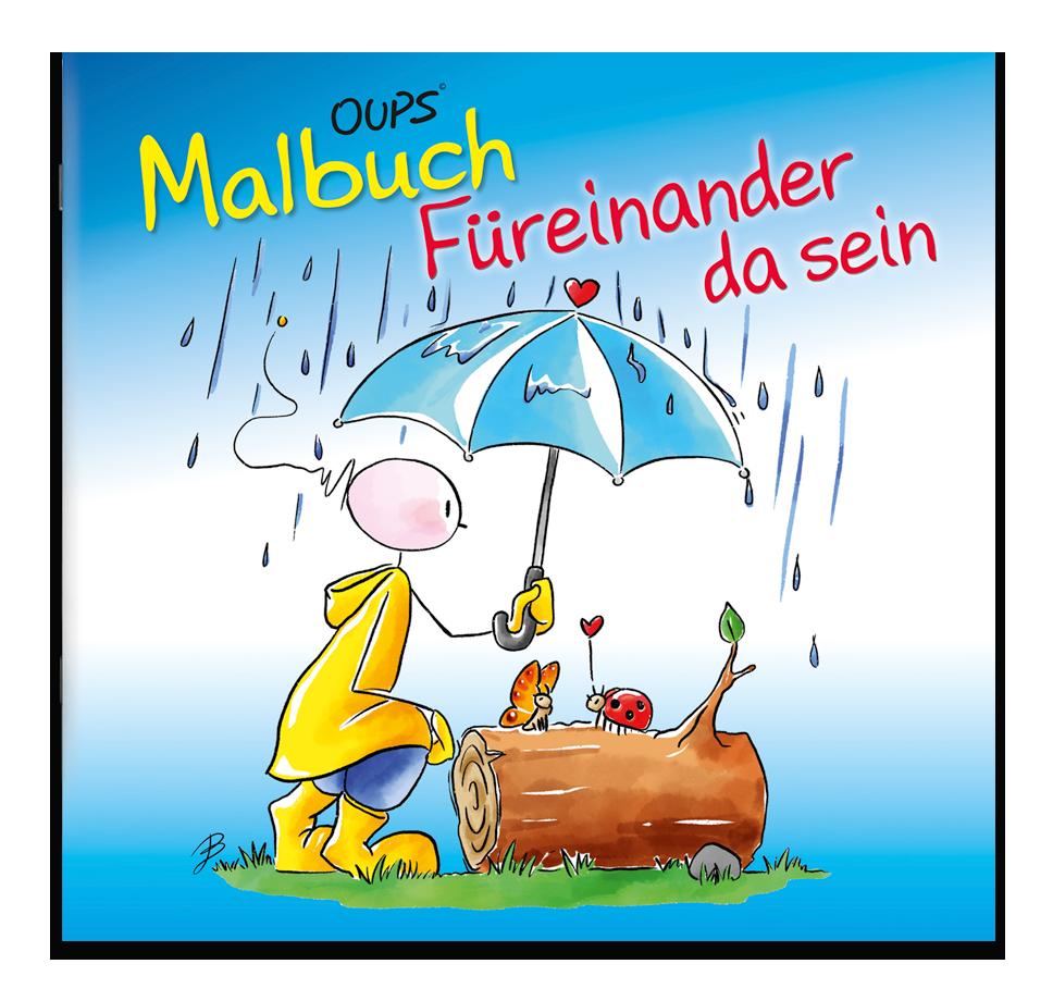 Oups Malbuch - Füreinander da sein