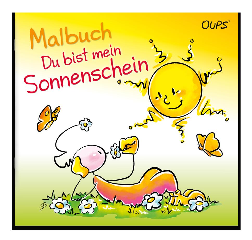 Oups Malbuch - Du bist mein Sonnenschein