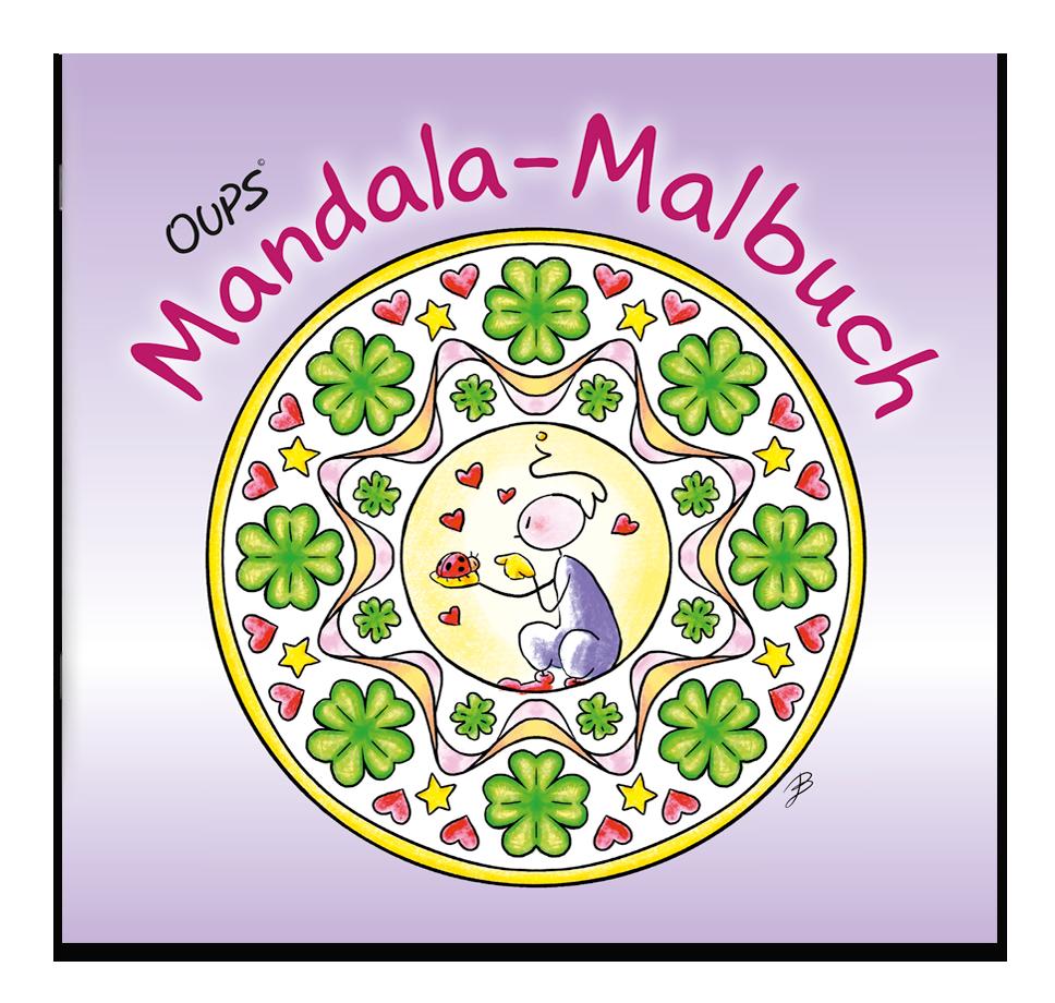 Oups Mandala-Malbuch
