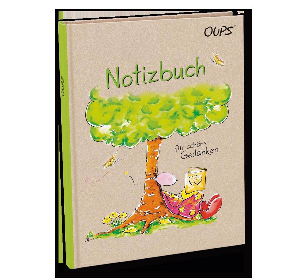 OUPS Notizbuch - für schöne Gedanken