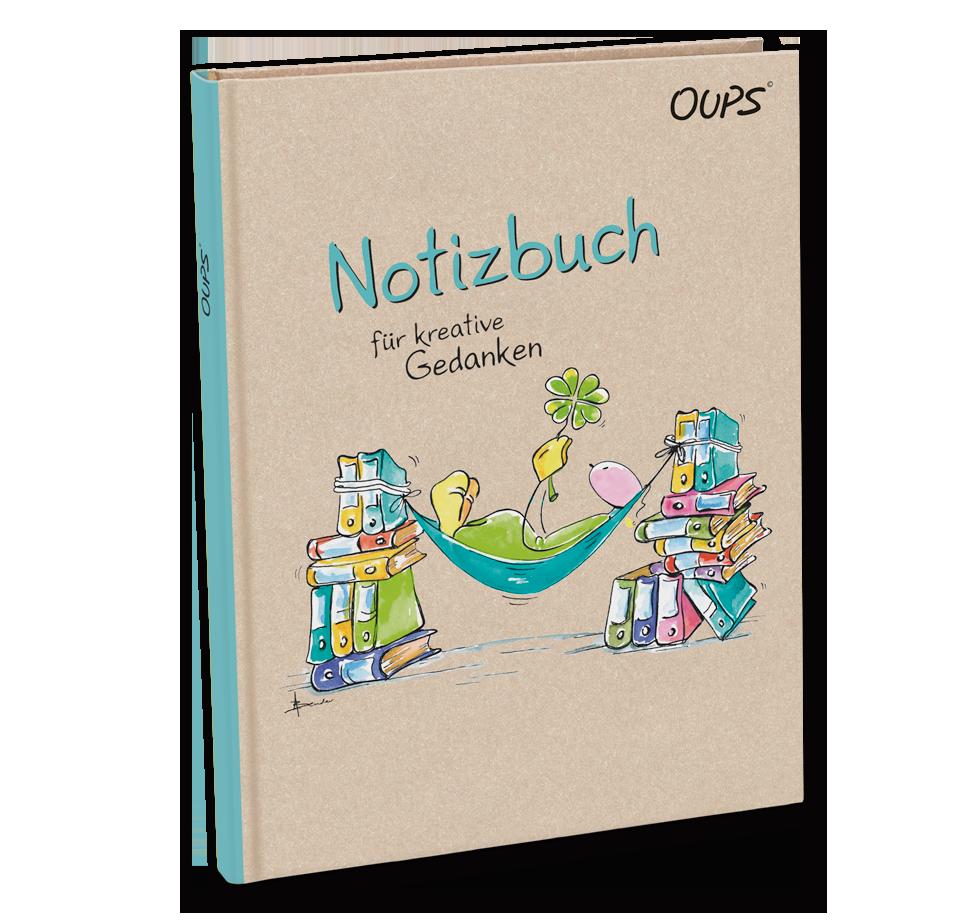 OUPS Notizbuch - für kreative Gedanken