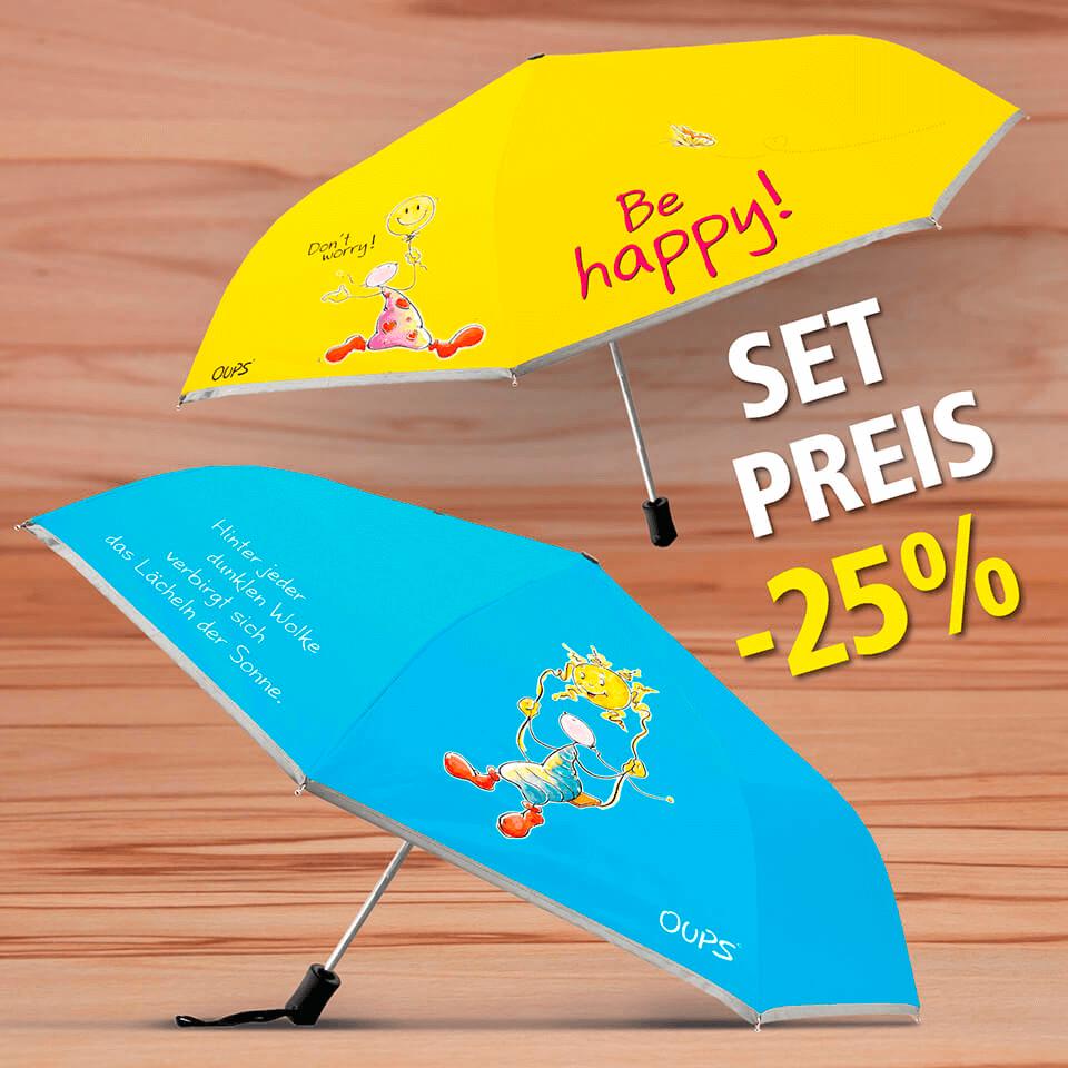 OUPS Regenschirm Set