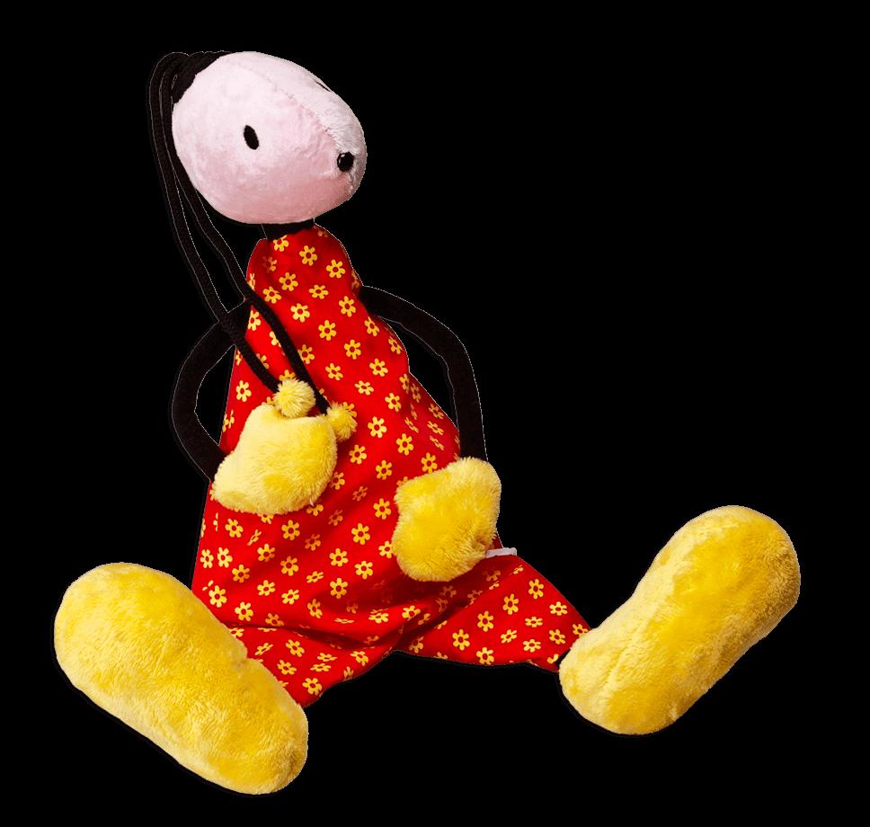 Kuschel Puppe - Oupsinchen