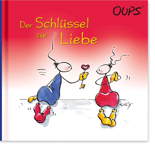 OUPS Buch - Der Schlüssel zur Liebe