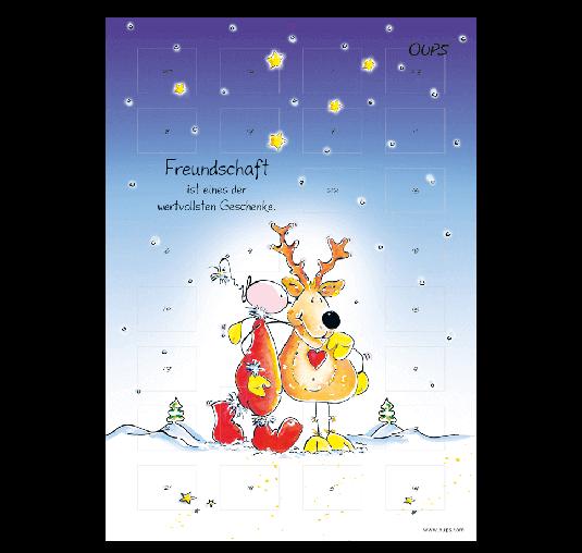 OUPS Adventkalender - zum Aufhängen
