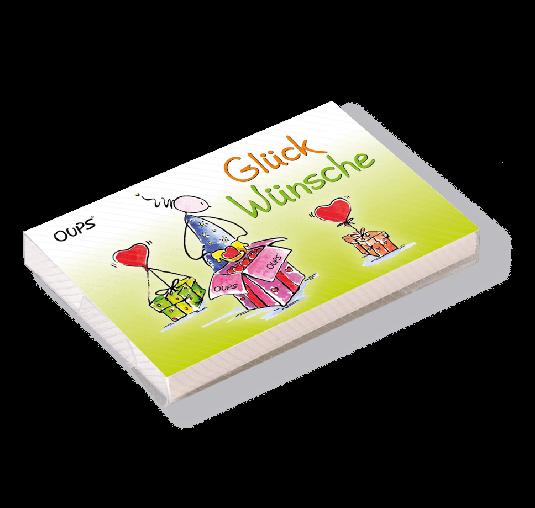 OUPS Kärtchenbox - Glückwünsche