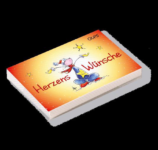 OUPS Kärtchenbox - Herzenswünsche